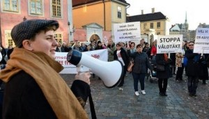 Protest-against-rape-in-sweden
